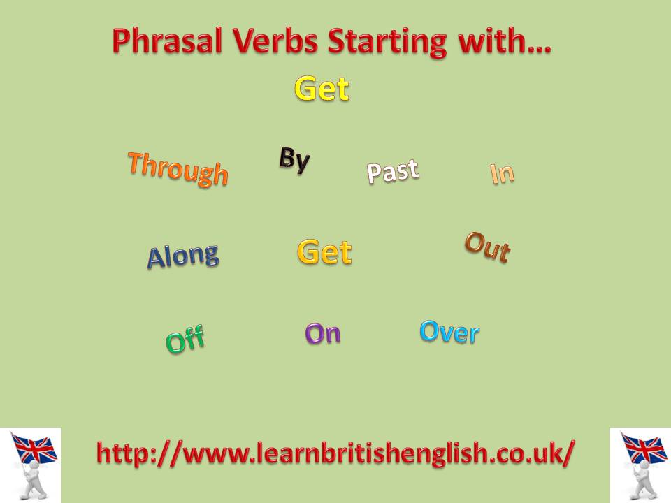 Learn english get on
