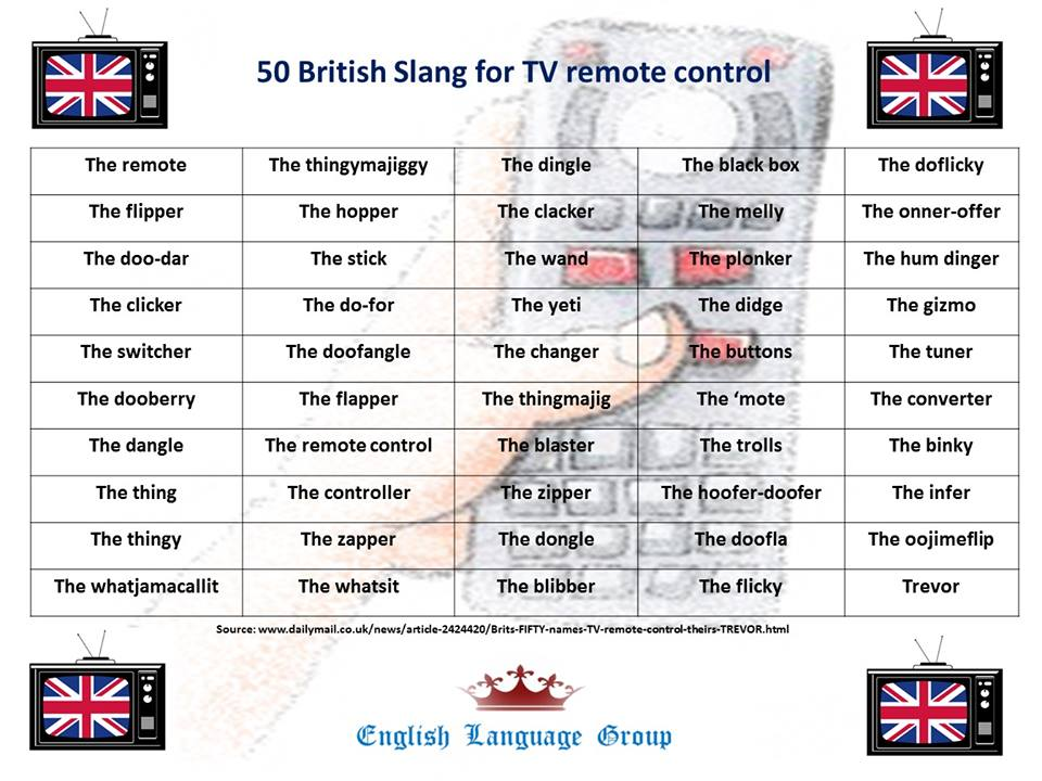 British Slang Remote