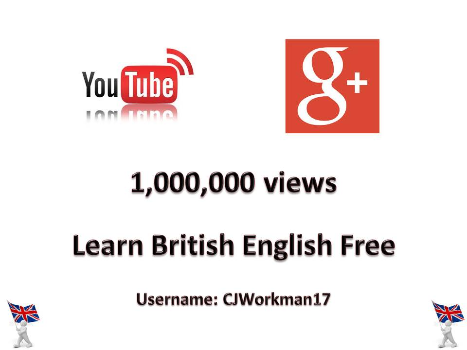 Learn British English Free 1000000 views JPEG