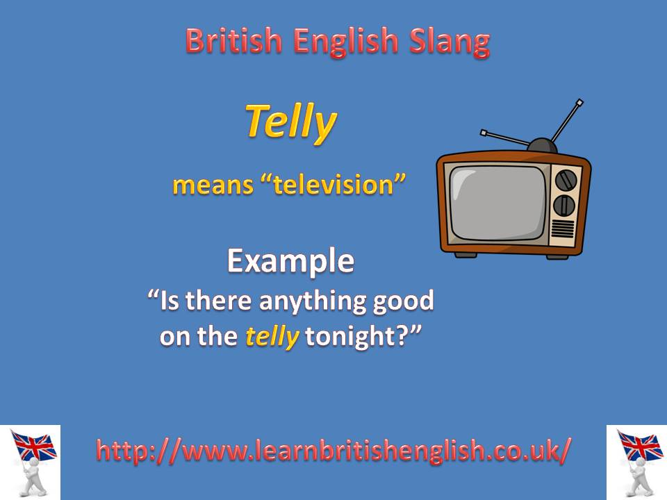 British slang telly learn british english telly slang jpeg m4hsunfo